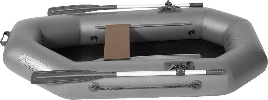 Лодка гребная Лоцман, С-200, надувная, серый лодка гребная aqua storm maverick st260