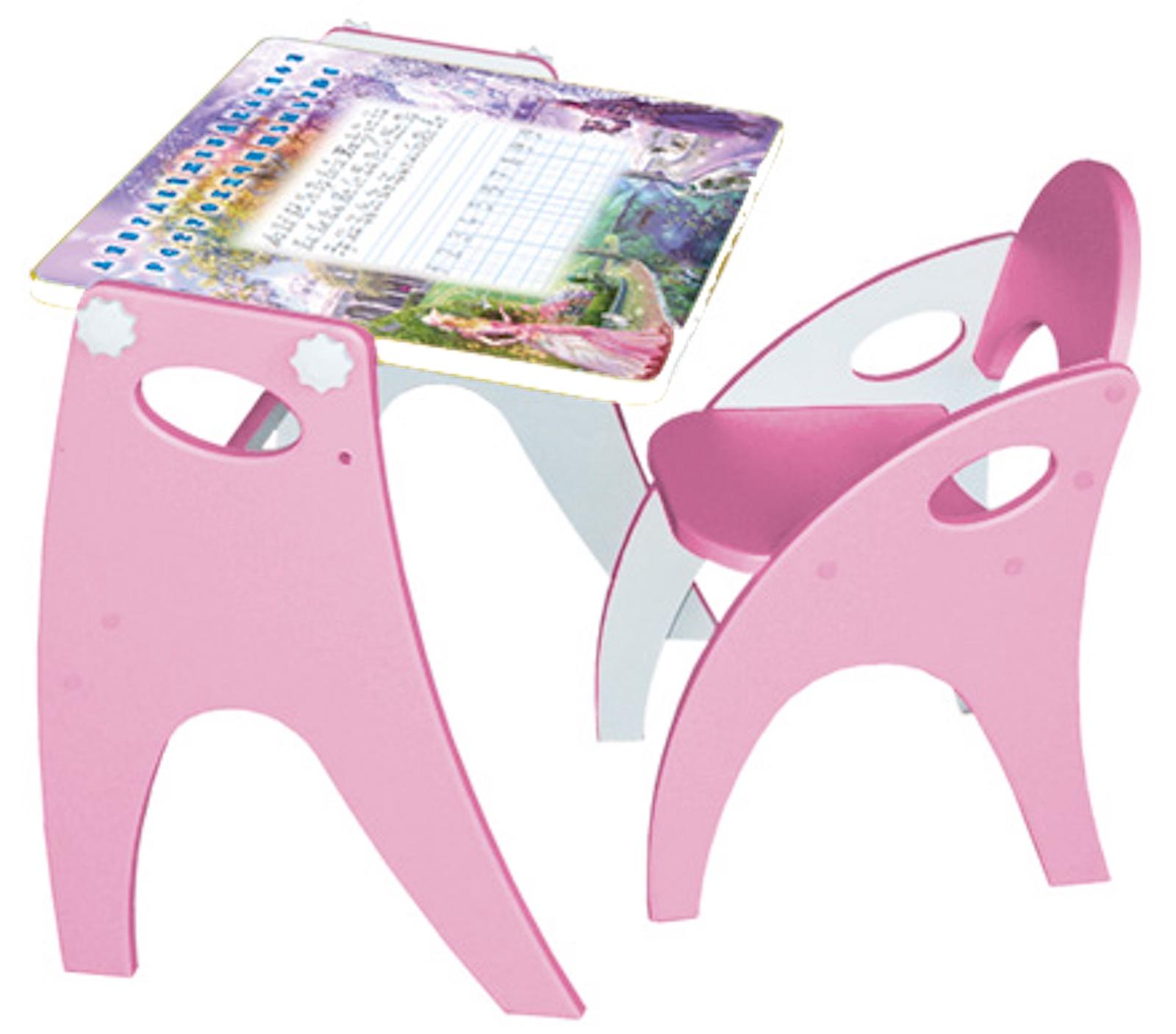 Набор детской мебели Интехпроект ТРАНСФОРМЕР, розовый набор детской мебели интехпроект трансформер розовый
