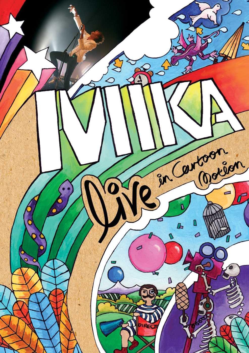 Mika Mika. Live In Cartoon Motion mika waltari riigi saladus