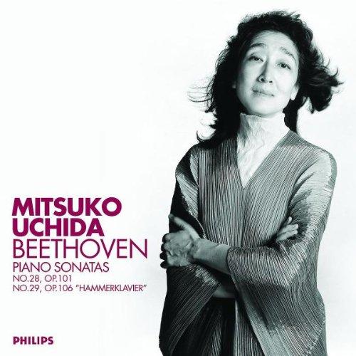 Мицуко Ючида Beethoven. Piano Sonatas Nos. 28 & 29 мицуко ючида schumann carnival kreisleriana