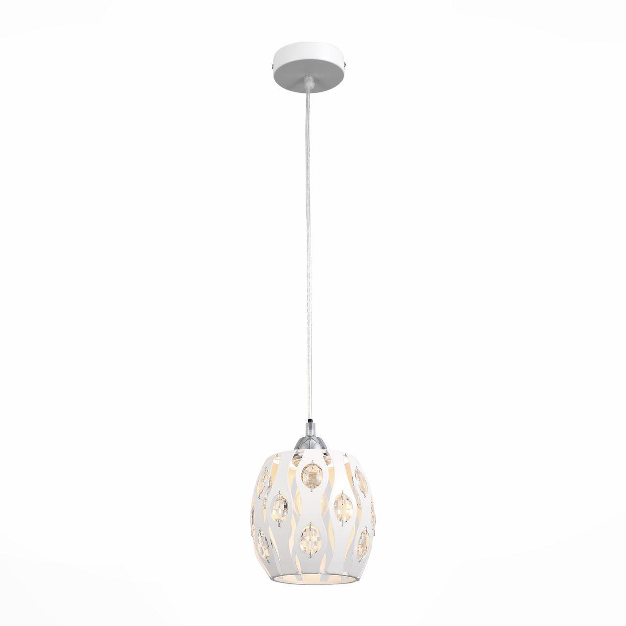 Подвесной светильник ST Luce SL793.503.01, белый настенный светильник st luce calma sl793 501 01