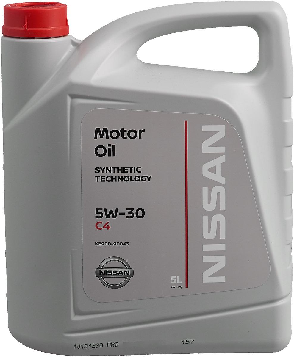 "Моторное масло NISSAN ""DPF"", синтетическое, класс вязкости 5W30, 5 л"