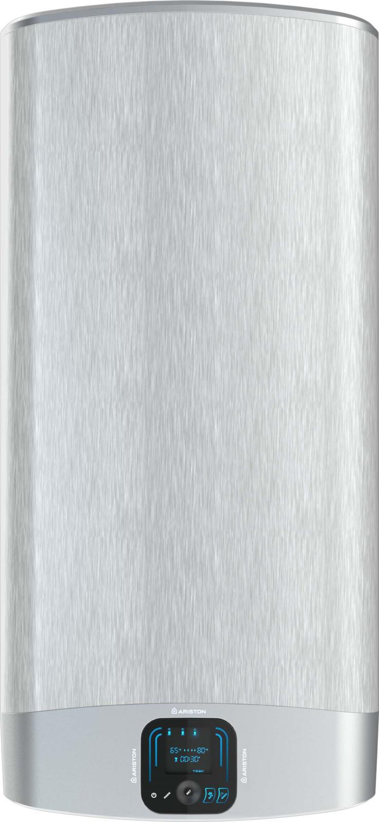 Водонагревательнакопительный электрический Ariston ABS VLS EVO INOX QH 80, 80 л, серебристый водонагреватель накопительный ariston abs vls evo inox qh 100 2500 вт 100 л