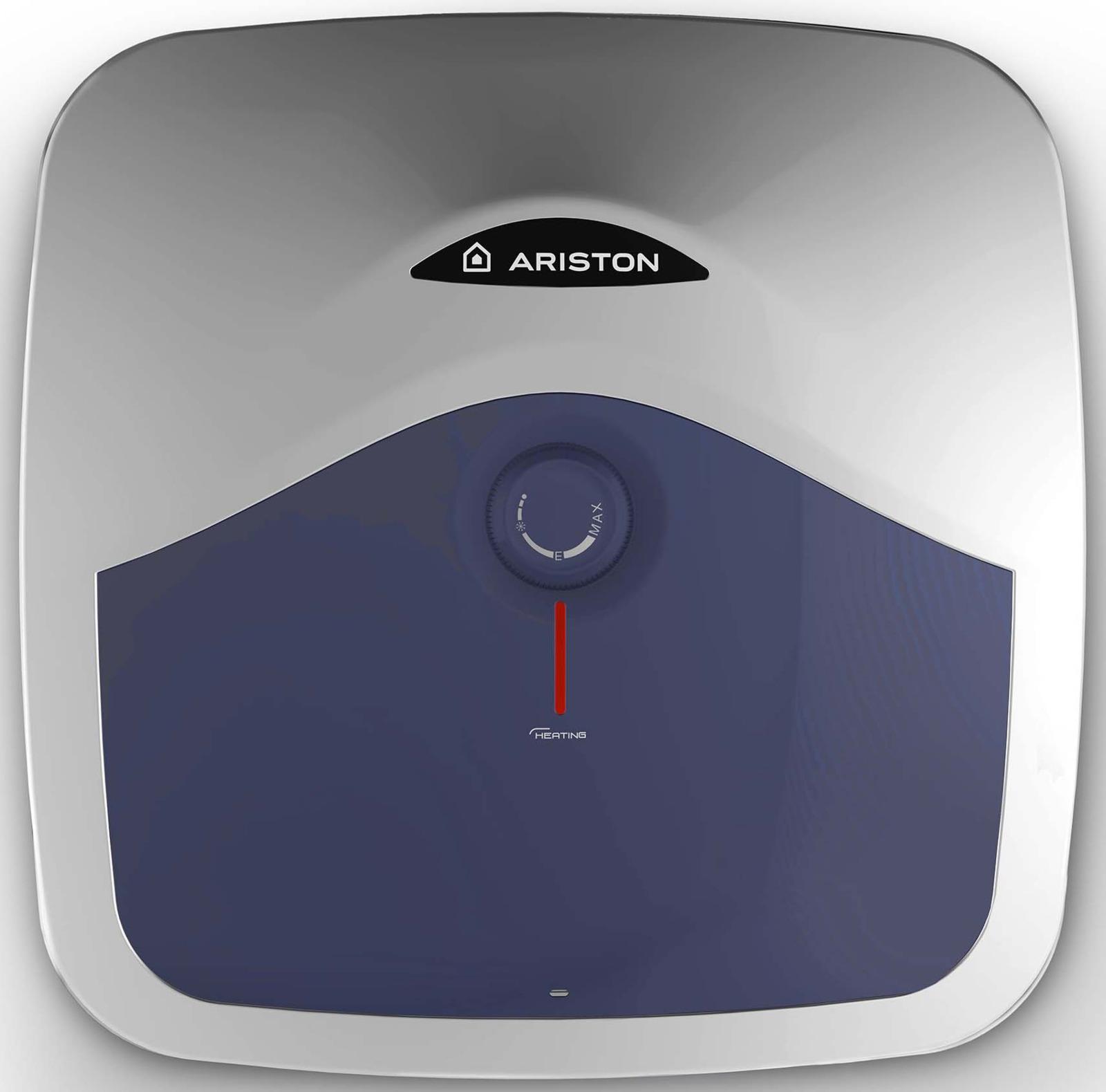 Водонагреватель накопительный электрический Ariston BLU EVO R 15 RU, 15 л, белый накопительный водонагреватель ariston blu evo r 10 ru