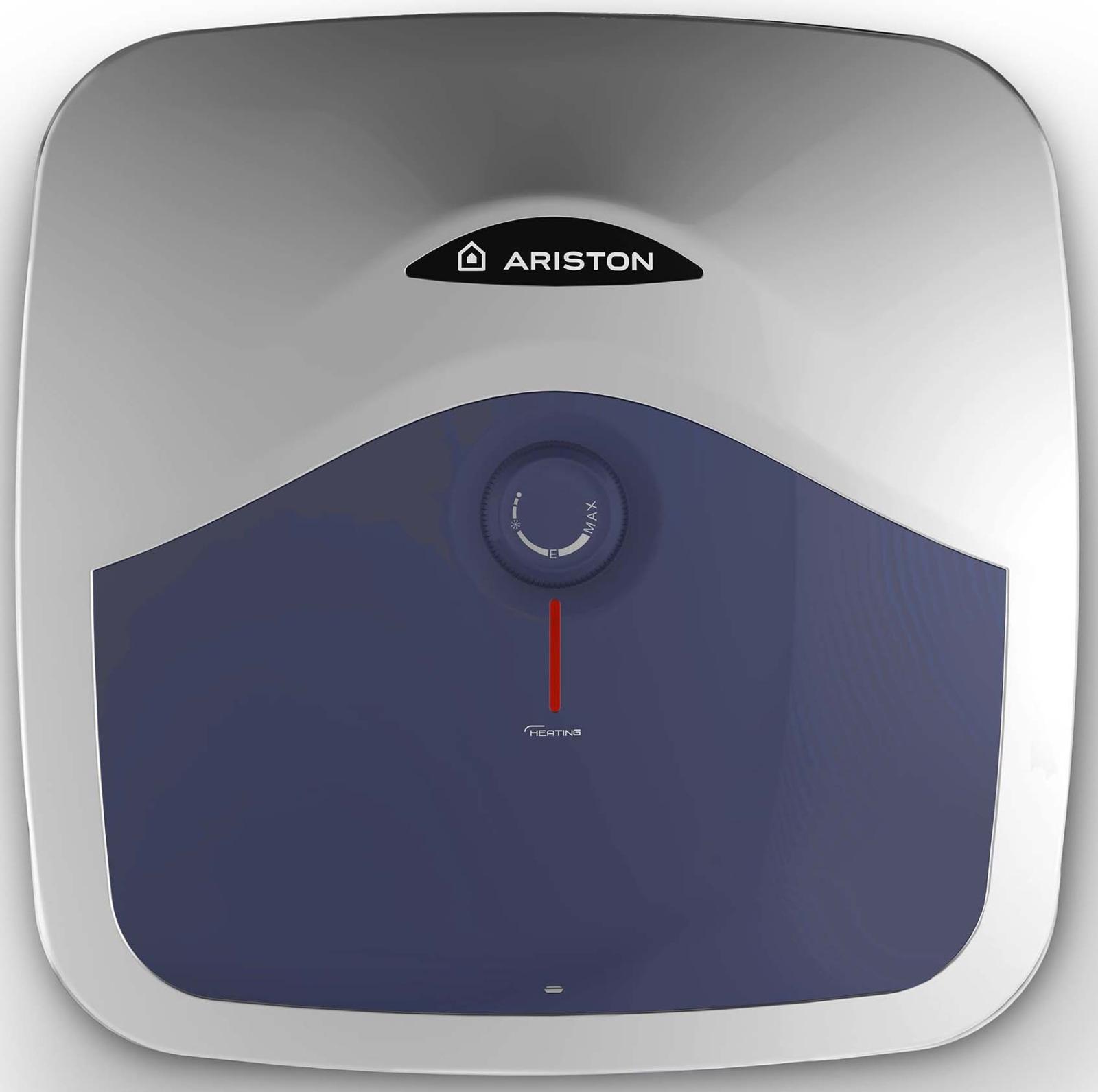 Водонагреватель накопительный электрический Ariston BLU EVO R 15U RU, 15 л, белый накопительный водонагреватель ariston blu evo r 10 ru