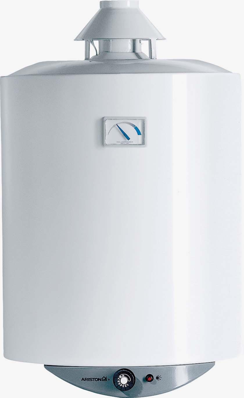 Газовая колонка Ariston SUPER SGA 100R, накопительная, 100 л, белый водонагреватель ariston super sga 50r белый