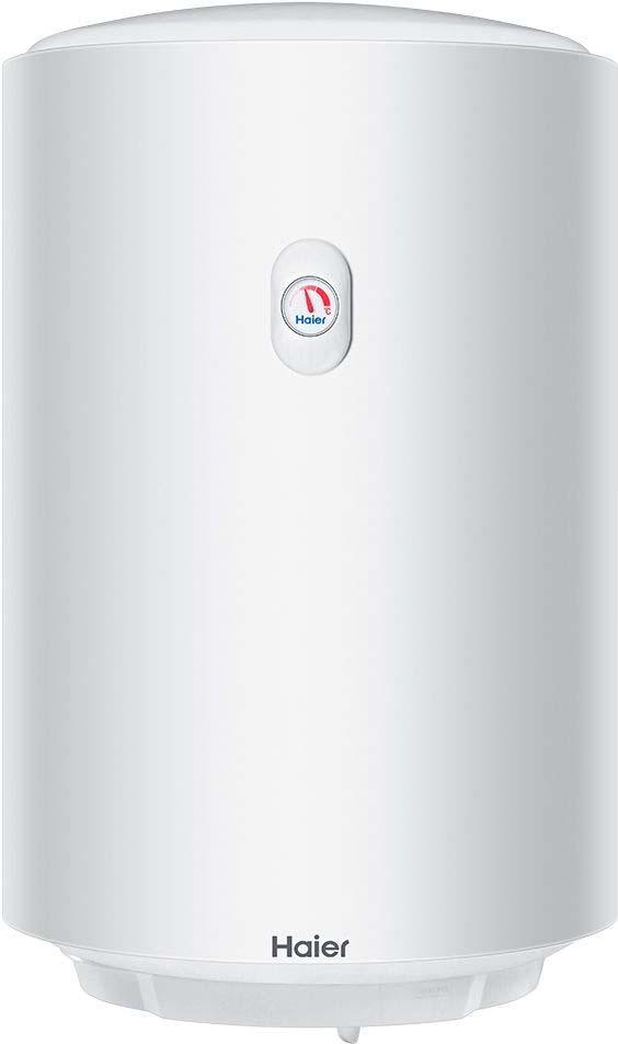 Водонагреватель накопительный электрический Haier ES50V-A3 HS, 50 л, белый электрический накопительный водонагреватель haier es80v a3