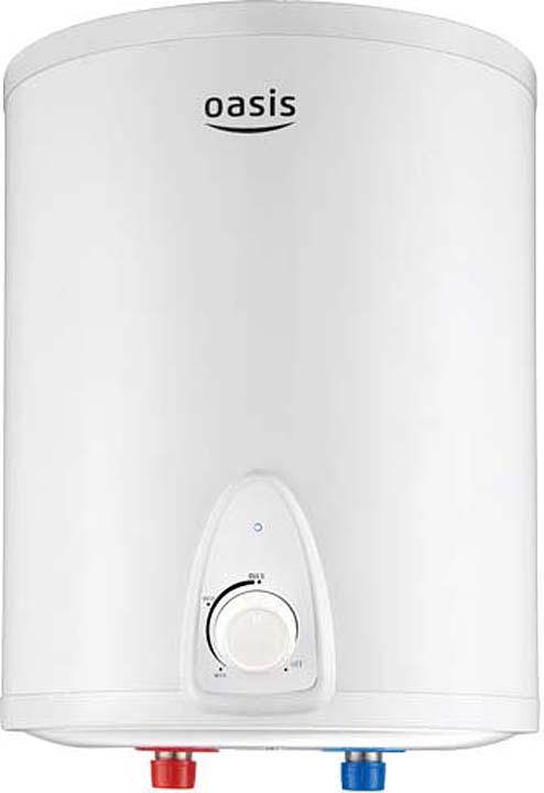 лучшая цена Водонагреватель накопительный электрический Oasis 10LN, 10 л, белый