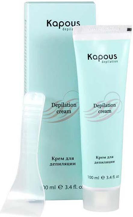 Крем для депиляции Kapous Professional Depilation, 100 мл вит крем для депиляции в душе для сухой кожи 150мл