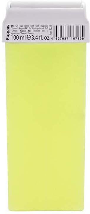Гелевый воск для депиляции Kapous Professional Depilation, с ароматом лимона, 100 мл