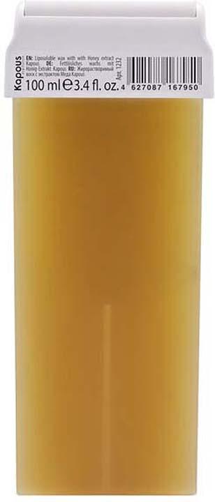 Жирорастворимый воск для депиляции Kapous Professional Depilation, с экстрактом меда, 100 мл