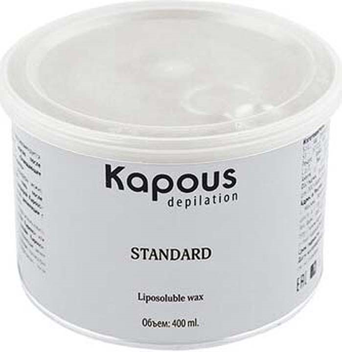 Жирорастворимый воск для депиляции Kapous Professional Depilation, с оксидом цинка, 400 мл гелевый воск для депиляции kapous отзывы