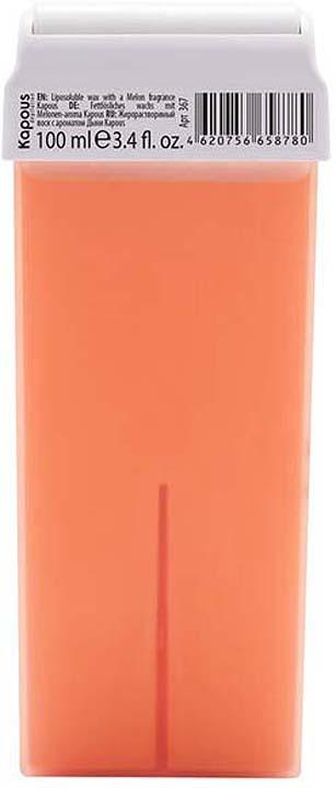 Жирорастворимый воск для депиляции Kapous Professional Depilation, с ароматом дыни, 100 мл крем для депиляции camo depilation цена