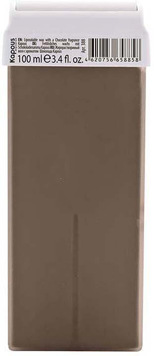 Жирорастворимый воск для депиляции Kapous Professional Depilation, с ароматом шоколада, 100 мл крем для депиляции camo depilation цена
