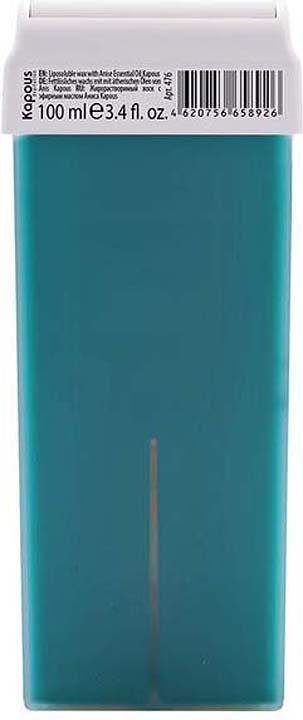Жирорастворимый воск для депиляции Kapous Professional Depilation, с эфирным маслом аниса, 100 мл