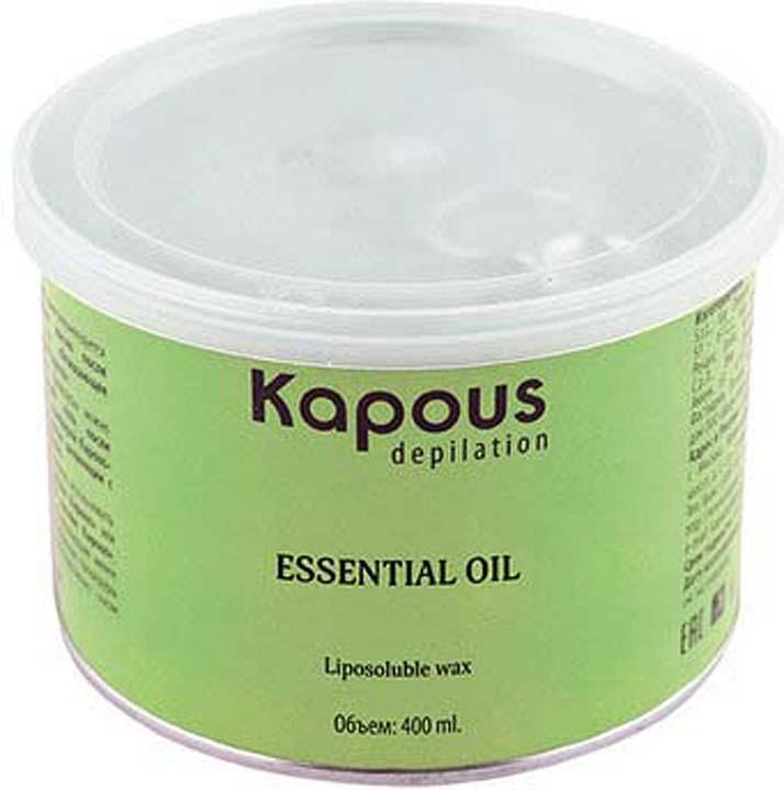 Жирорастворимый воск для депиляции Kapous Professional Depilation, с экстрактом алоэ, 400 мл гелевый воск для депиляции kapous отзывы