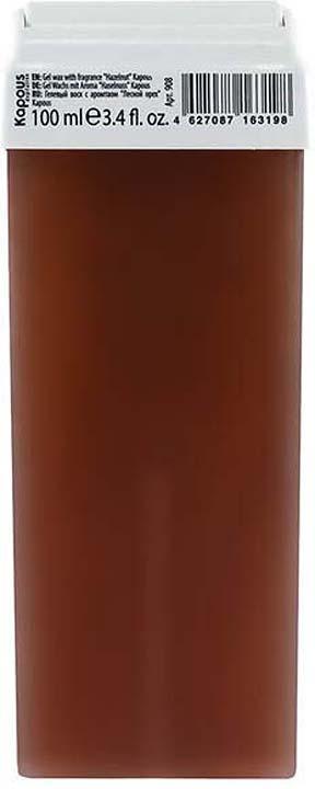 Гелевый воск для депиляции Kapous Professional Depilation, с ароматом лесного ореха, 100 мл