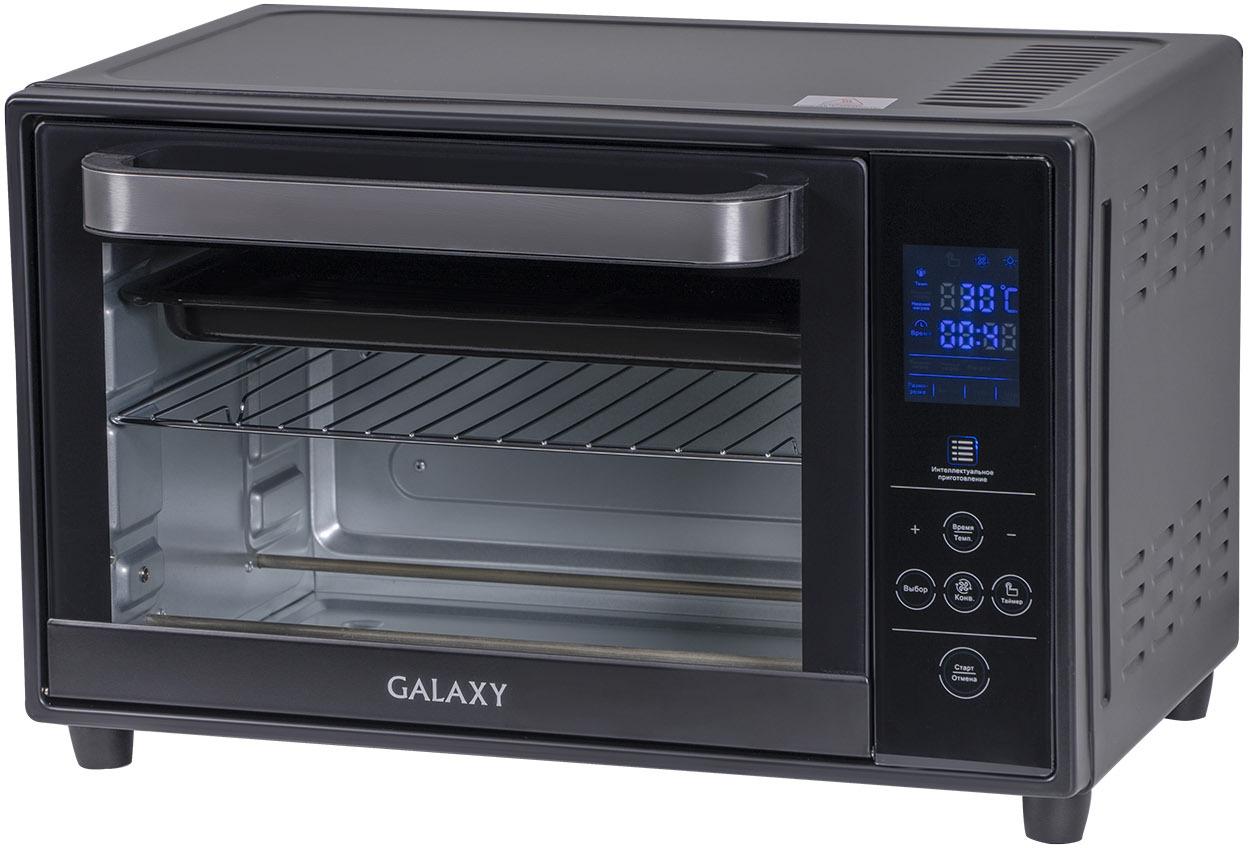 Мини-печь Galaxy GL 2623, черный, серый металлик