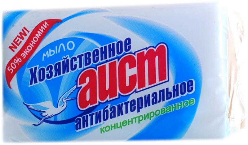 Мыло для стирки Аист Антибактериальное, 4304010015, 200 г статуэтка аист