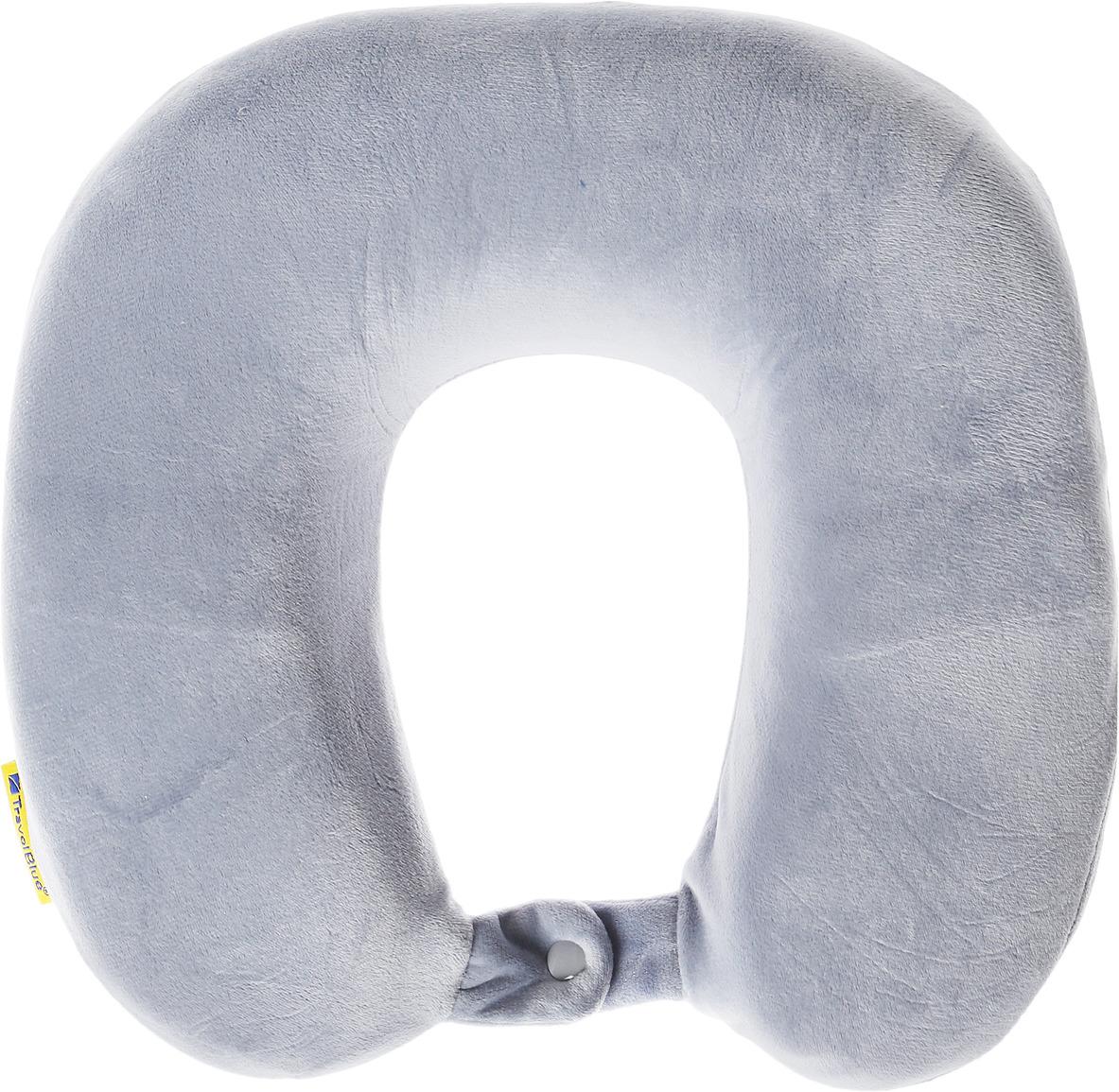 Подушка для путешествий Travel Blue Memory Foam Pillow, с эффектом памяти, цвет: синий, 29 х 28 х 9 см подушки arya подушка memory foam 40х60