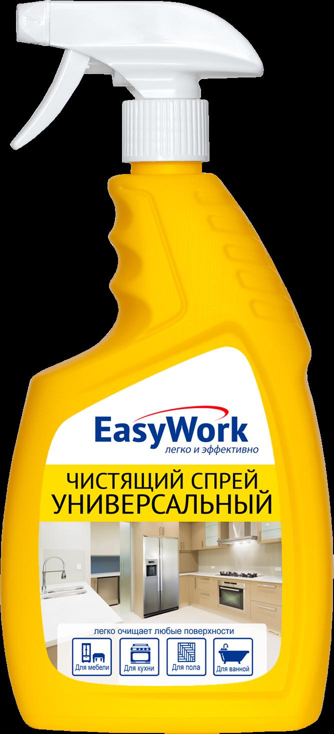 Универсальный чистящий спрей EasyWork, 305372, 750 мл универсальный чистящий крем nordland