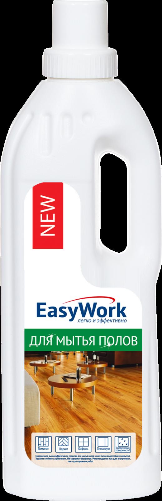 Средство для мытья пола EasyWork, 303422, 750 мл meine liebe универсальное средство для мытья пола антибактериальный эффект 750 мл