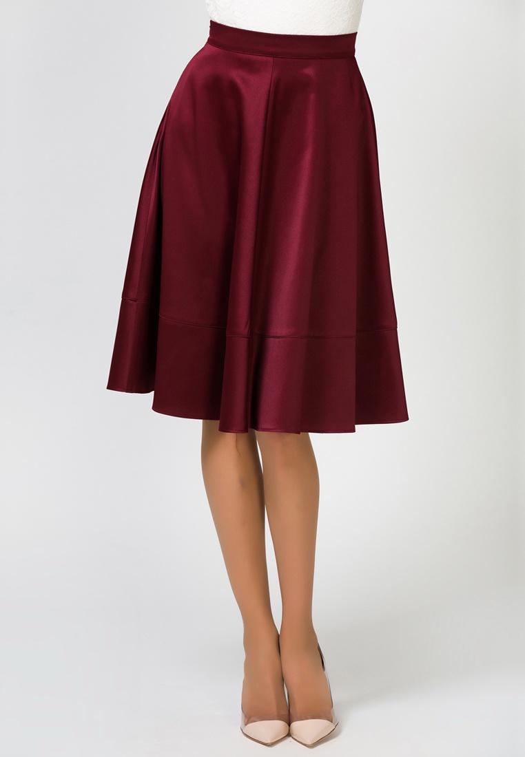 Юбка Remix расклешенная юбка с застежкой на молнию rebecca tatti