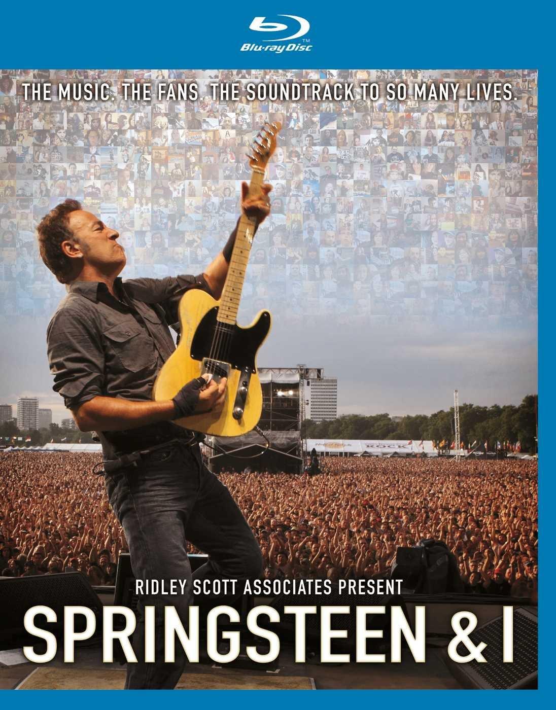 Брюс Спрингстин Bruce Springsteen. Springsteen & I (Blu-ray) брюс спрингстин bruce springsteen born to run remastered