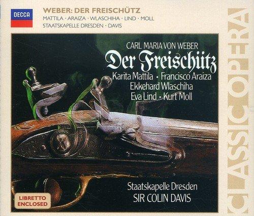 Carl Maria von Weber. Der Freischutz (2 CD) johann friedrich kind der freischutz