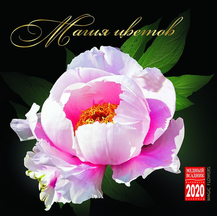 Календарь на 2020 год (на спирали). Магия цветов