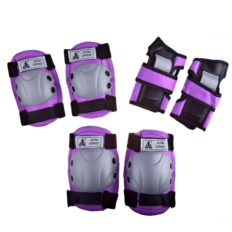Комплект защиты Alpha Caprice 104B, фиолетовый