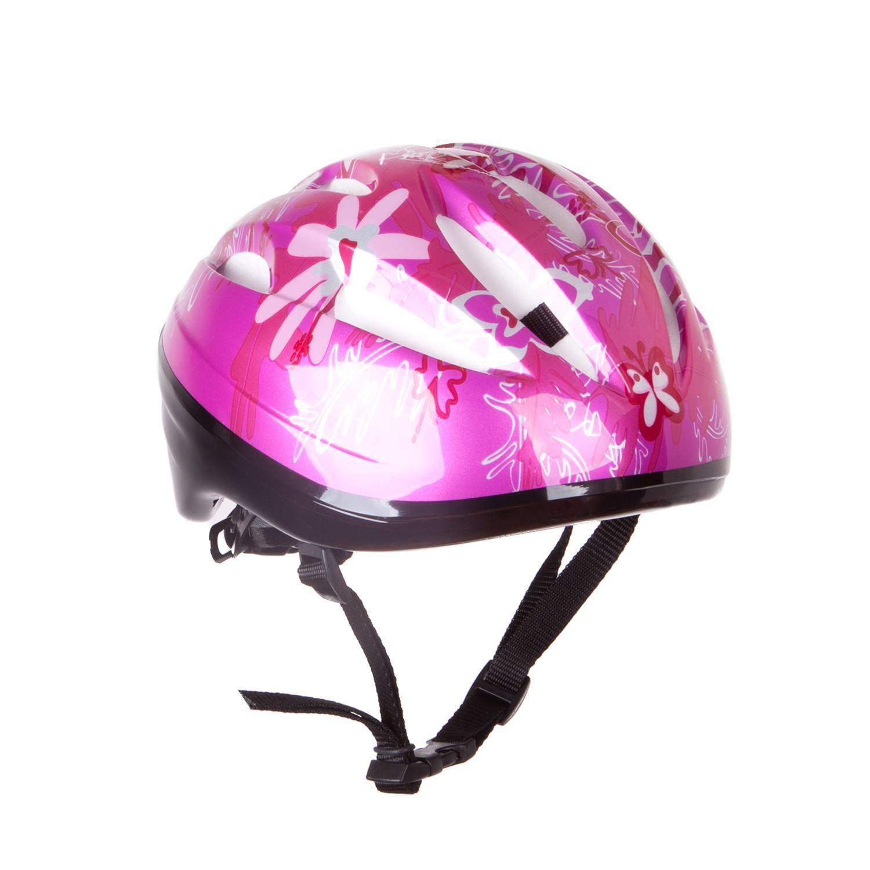 Шлем защитный Alpha Caprice FCB-12B-23, розовыйFCB-12B-23-02Легкий и комфортный шлем защитит спортсмена от неожиданных падений при катании на роликовых коньках, скейтбордах, велосипедах, самокатах. Изготовлен из плотного пенополистерола с верхним покрытием из ABS пластика. Имеет вентиляционные отверстия. Благодаря механизму регулировки размер шлема легко изменяется соответственно размеру головы. Легко расстегивающаяся пряжка с системой Aculock. Упакован в полиэтиленовый пакет. Размер : L 51-53.