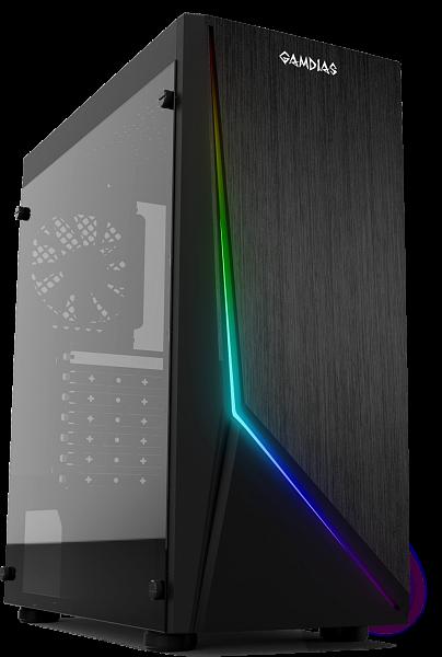 Компьютерный корпус Gamdias для игрового ПК Argus E1, черный