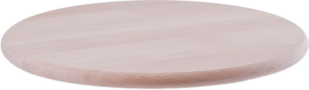 цены Разделочная доска Zeller, 22031, светлое дерево, диаметр 36 см