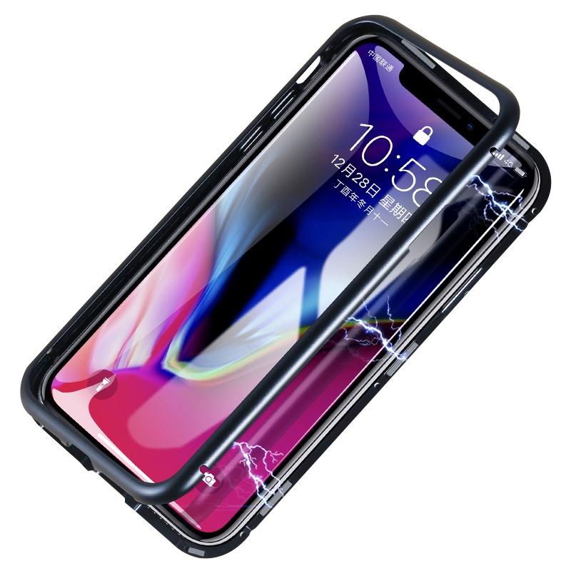 Чехол для сотового телефона fashion metal для iIPhone XR металлический, черный