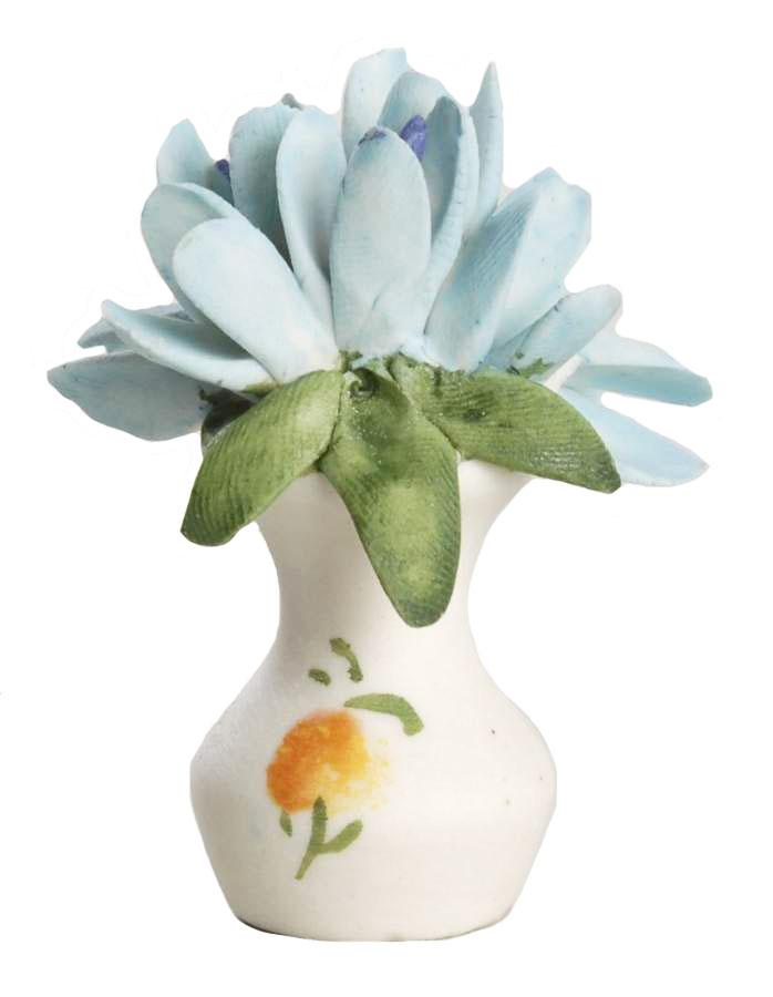 Композиция Franklin Mint Крокус, белый, голубой franklin