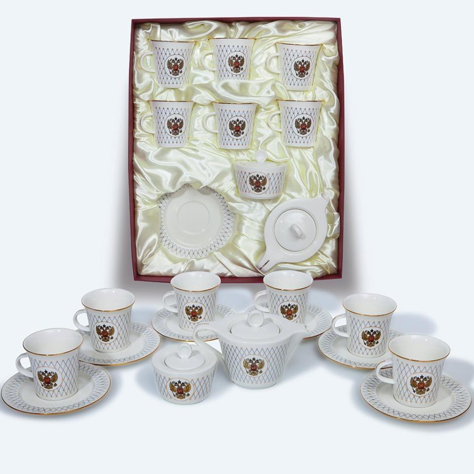Фото - Сервиз чайный Ins-s 2202 [супермаркет] jingdong геб scybe фил приблизительно круглая чашка установлена в вертикальном положении стеклянной чашки 290мла 6 z