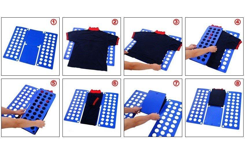 Средство для одежды Migliores Рамка для складывания одежды, белый Migliores