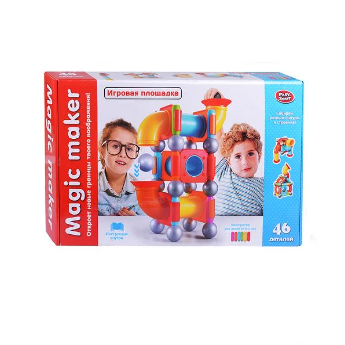 Магнитный конструктор Play Smart 2442 play smart 2х41 1x6 3 см