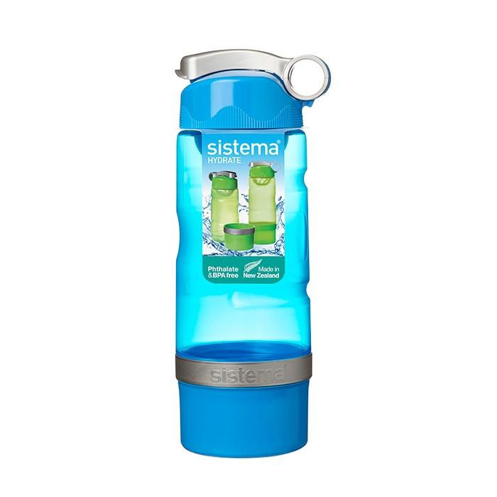 Бутылка для воды Sistema 535_Синий, синий