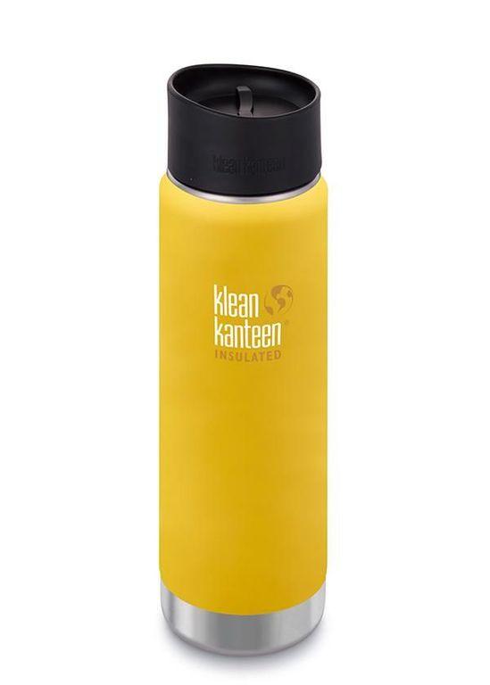 Термос Klean Kanteen INSULATED WIDE CAFE CAP 20OZ, желтый1003148Стальная термобутылка Klean Kanteen может выполнять сразу 3 функции:термокружкитермосаи обычной бутылки.За счет двойных стенок и вакуума между ними, термобутылка Klean Kanteen обладает теми же свойствами, что и термос: содержимое остается горячим до 14 часов (можно использовать для чая, кофе в прохладную погоду), а холод удерживается до 48 часов (можно брать с собой охлажденные напитки со льдом, например, в жару). Непротекаемая стальная крышка с кольцом позволяет в считанные секунды прикрепить термобутылку Klean Kanteen карабином к рюкзаку или забросить ее прямо в рюкзак или сумку.А с дополнительной кофейной крышкой термобутылка Klean Kanteen превращается в удобную термокружку, из которой удобно пить в движении и содержимое не будет расплескиваться (удобно при пеших или велосипедных прогулках, а также в автомобиле).Термобутылки Klean Kanteen являются бутылками класса ЛЮКС среди остальных, как безымянных, так и фирменных термокружек и небольших термосов. Если вам нужна не дешевая подделка, а настоящий, качественный продукт (для себя или в подарок), то вы не будете разочарованы! Благодаря высококачественным материалам и технологии изготовления, термобутылка прослужит многие годы, краска не облезет, а на крепкой стали не появится даже намеков на коррозию!Изготовленная из высококачественной пищевой стали марки 18/8, термобутылка Klean Kanteen абсолютно не содержит никаких токсинов, не выделяет и не передает никаких запахов. Поэтому неважно, сколько раз вы пользовались бутылкой, ч...