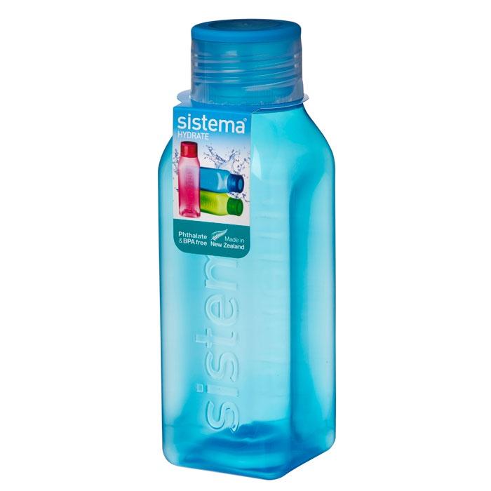 Бутылка для воды Sistema 870_Синий, синий