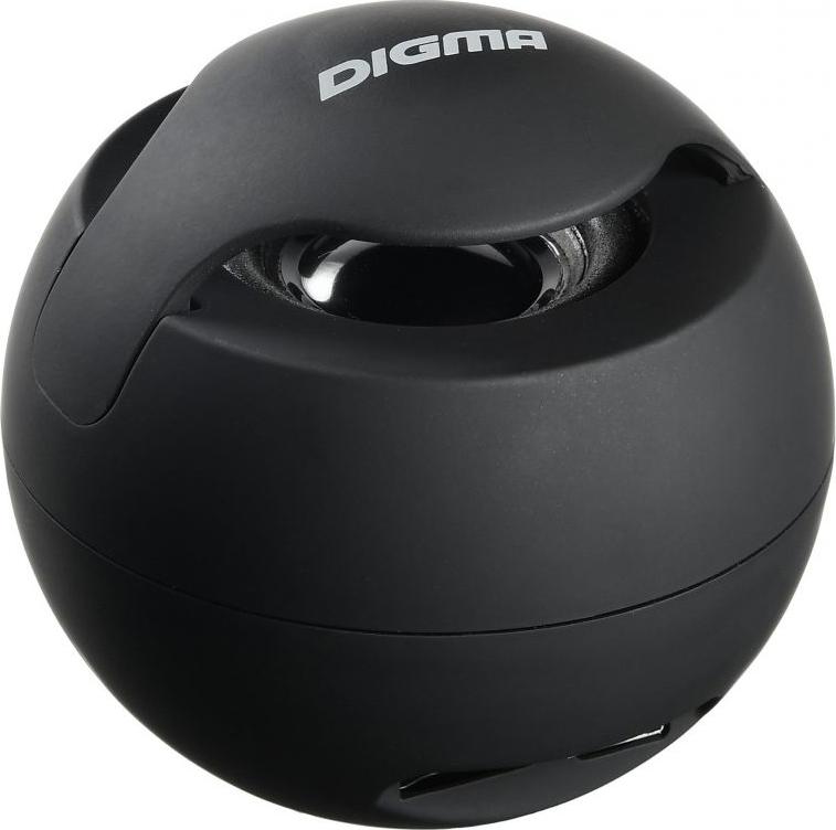лучшая цена Беспроводная колонка Digma, S-11, портативная, black