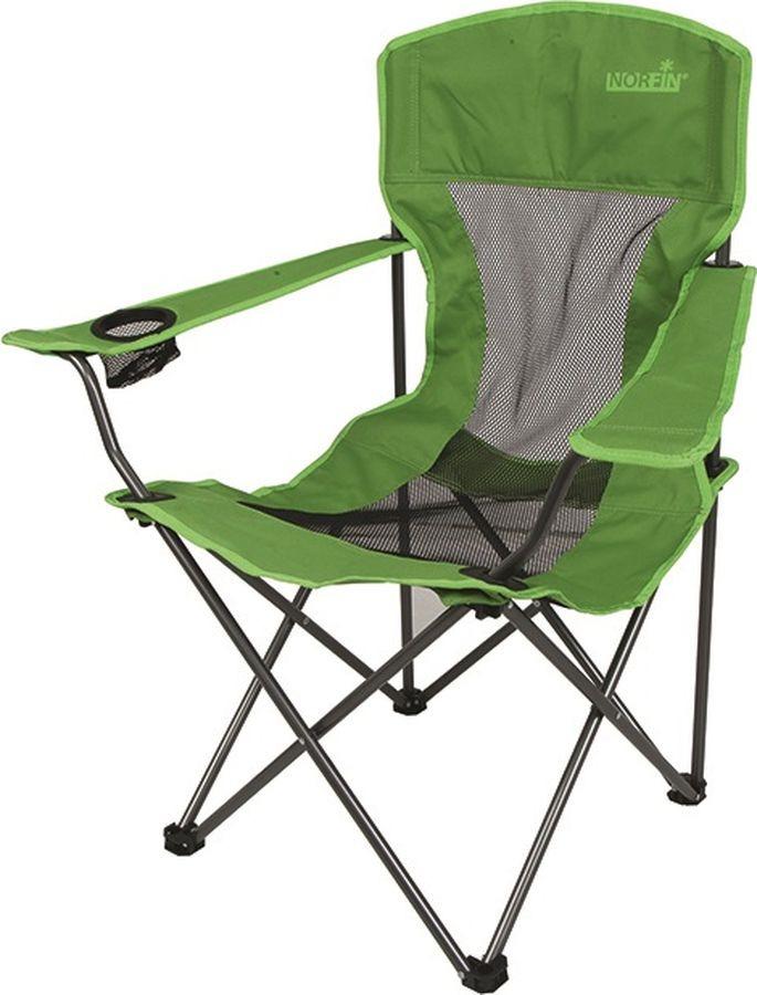 цена на Кресло раскладное Norfin Raisio Nf, NF-20106, зеленый, 54 х 42 х 43/95 см