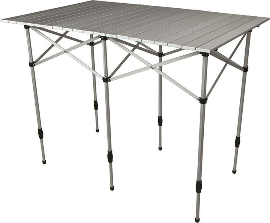 Стол раскладной Norfin Glomma-M Nf, NF-20303, серый, 110 х 70 х 70 см стол norfin glomma s alu 70x70 nf 20302