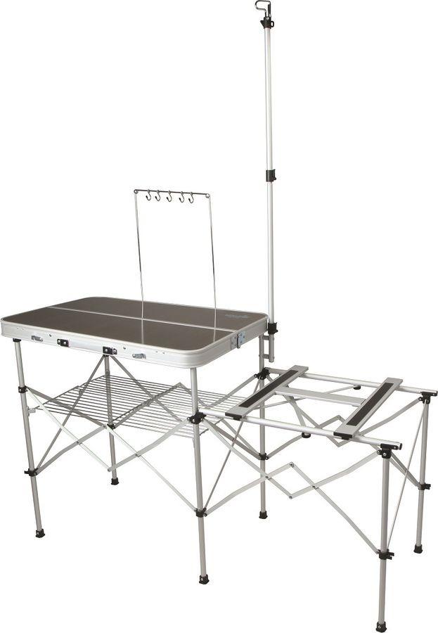 Стол раскладной Norfin Syndle Nfl, NFL-20404, серый, 82 х 83 х 81 см цена