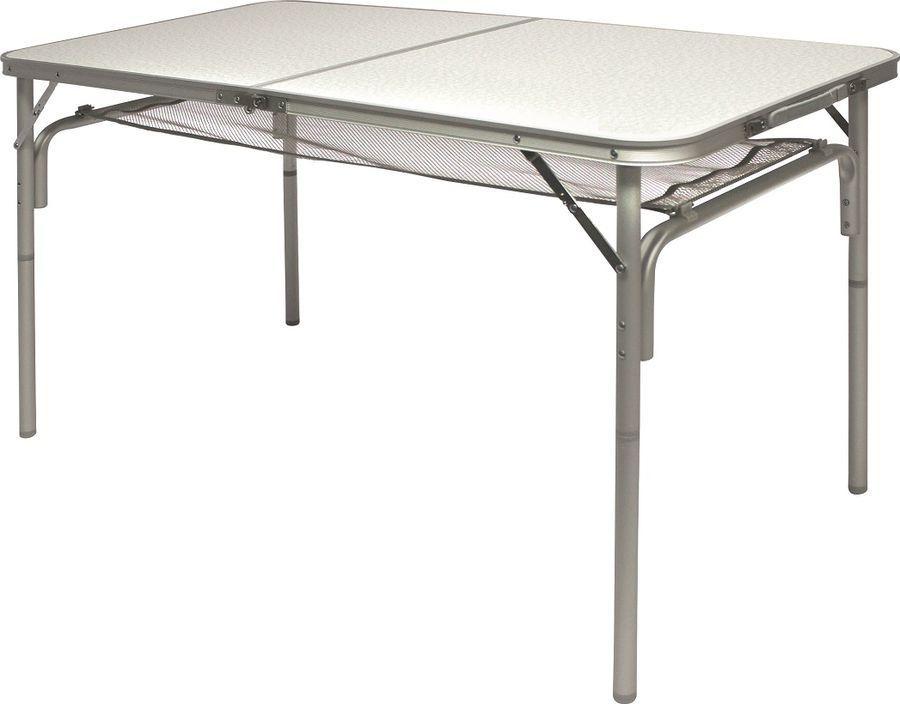 Стол раскладной Norfin Gaula-L Nf, NF-20307, серый, 120 х 60 х 30/71 см стол norfin glomma s alu 70x70 nf 20302