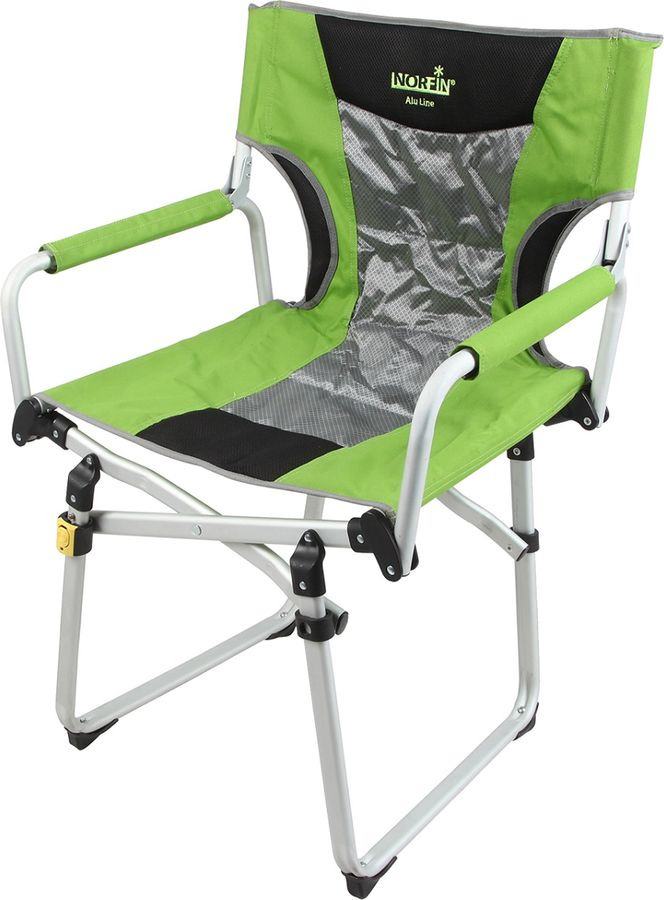 Кресло раскладное Norfin Mikelli Nf, NF-20220, зеленый, 59 х 47 х 48/89 см кресло складное norfin risor nf alu цвет серый зеленый 47 см х 42 см х 80 см