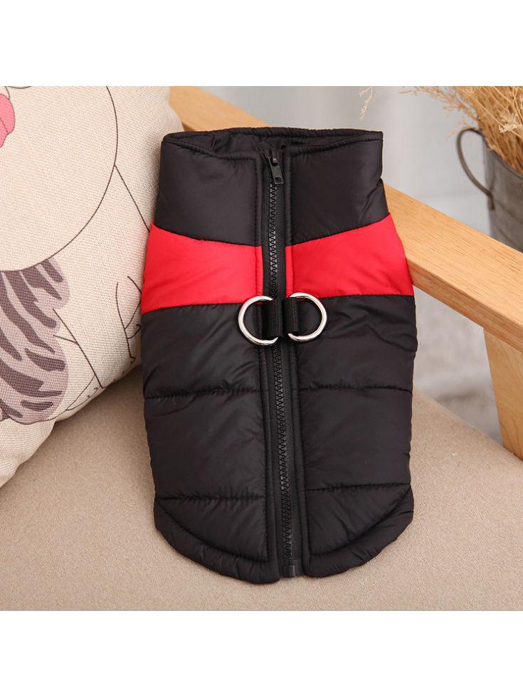 Одежда для собак Удачная покупка P0001-08-5XL, черный, красный