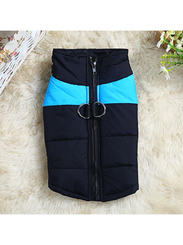 Одежда для собак Удачная покупка P0001-07-3XL, черный, голубой